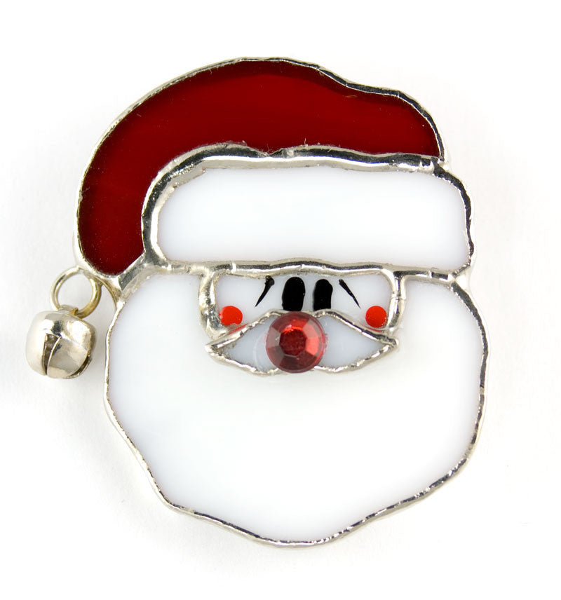 Jewelry- 'Santa Face Pin'