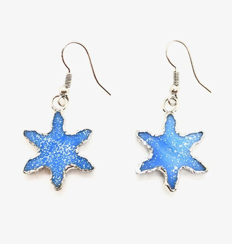 Jewelry- Snowflake Earrings