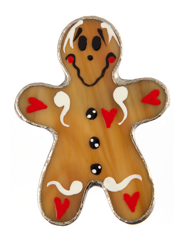 Jewelry- Gingerbread Man Pin