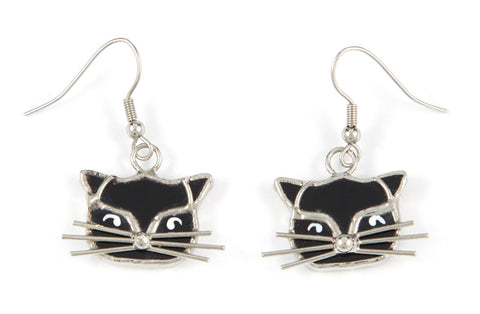 Jewelry- Black Cat Earrings