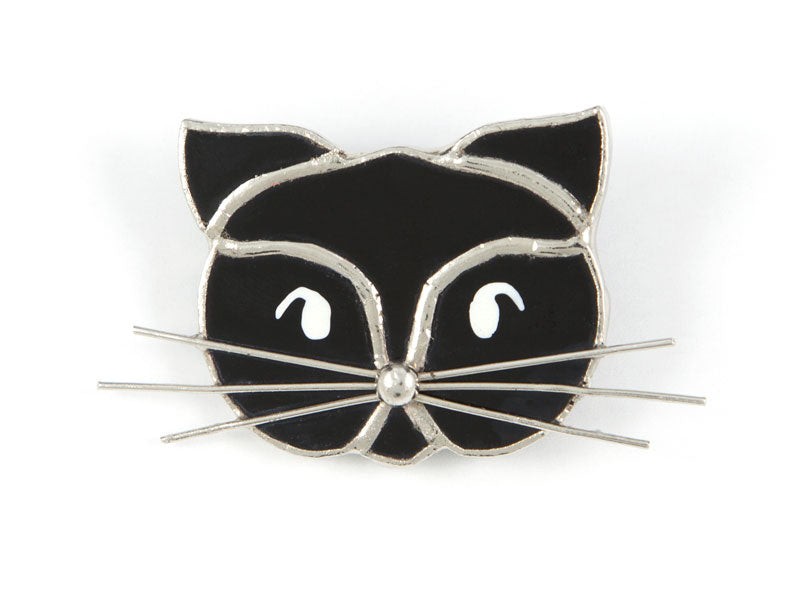 Jewelry- Black Cat Pin