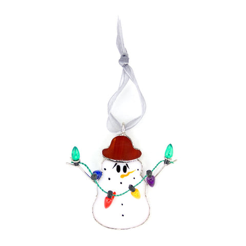 Swittle Snowman Ornament