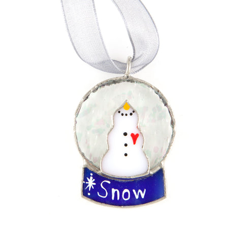 Swittle Snow-Globe Ornament