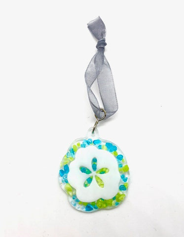 Swittle- Coastal Sand-Dollar Ornament