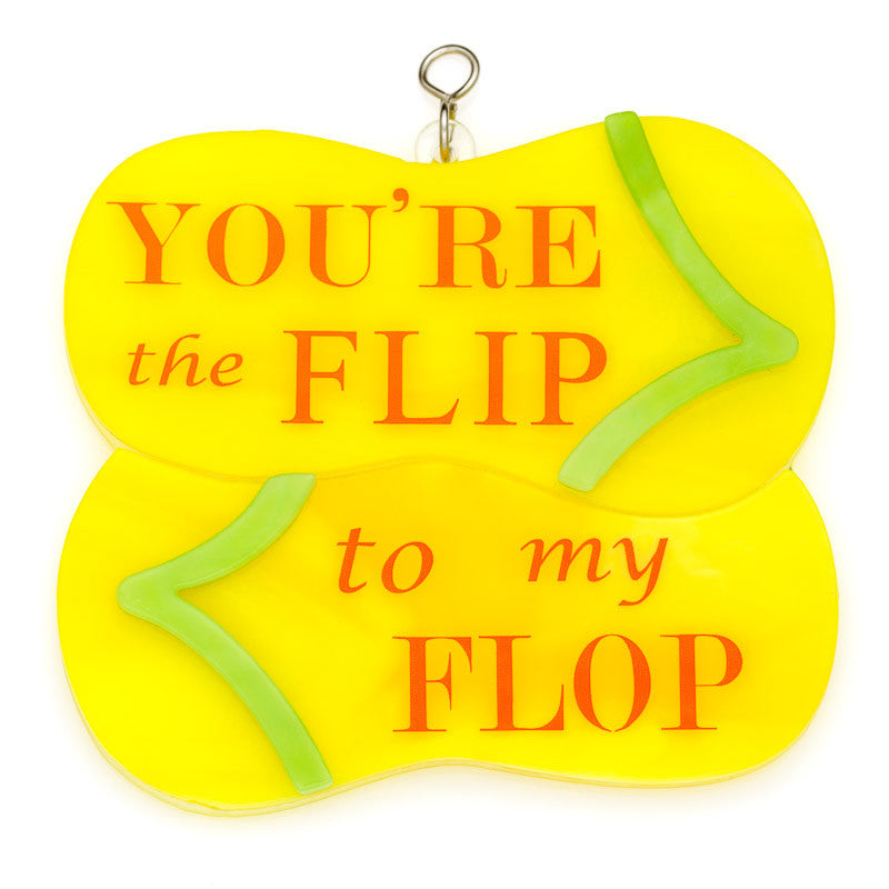 Glass Cover- Flip To My Flop
