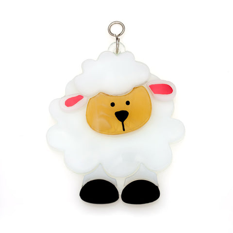 Glass Cover- Fluffy Sheep