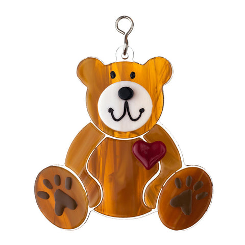 Glass Cover- Teddy Bear