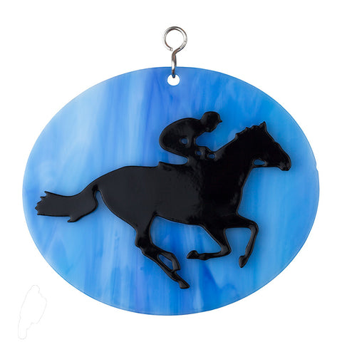 Glass Cover- Race Horse