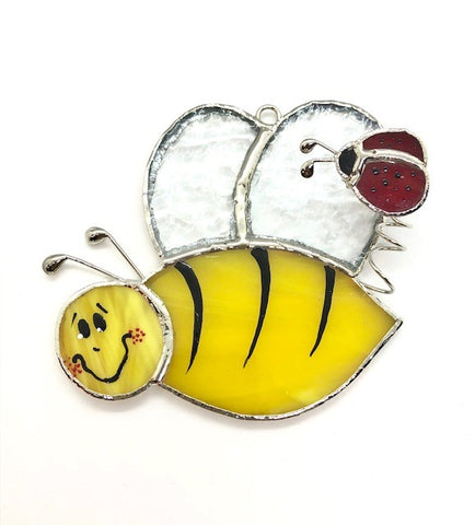 Glass Cover- Bumble Bee