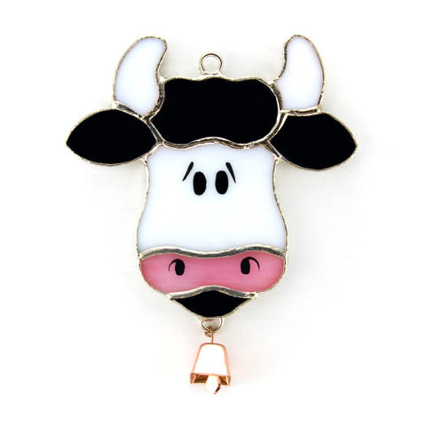 Glass Cover- Cow