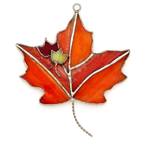Glass Cover- Maple Leaf