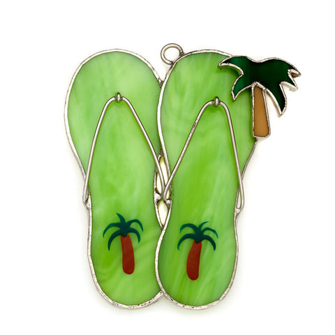 Glass Cover- Flip Flops