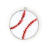 Glass Cover- Baseball