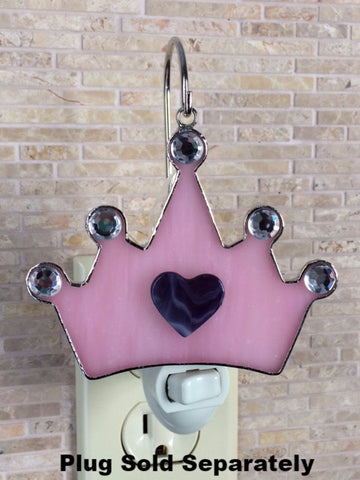 Glass Cover- Princess Crown