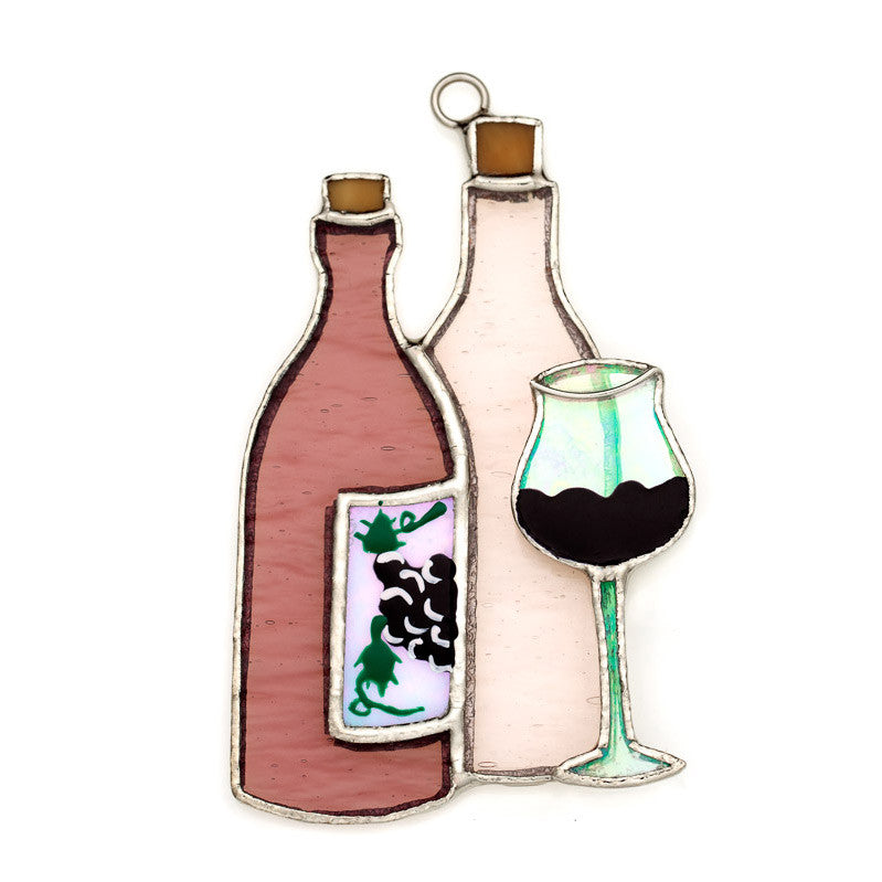 Glass Cover- Bottles of Wine