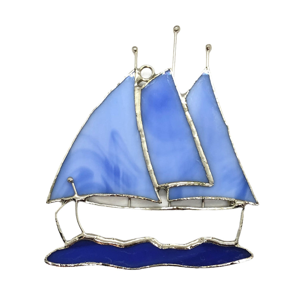 Glass Cover- Sailboat