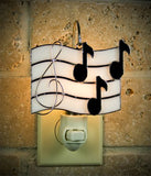 Glass Cover- Music Notes