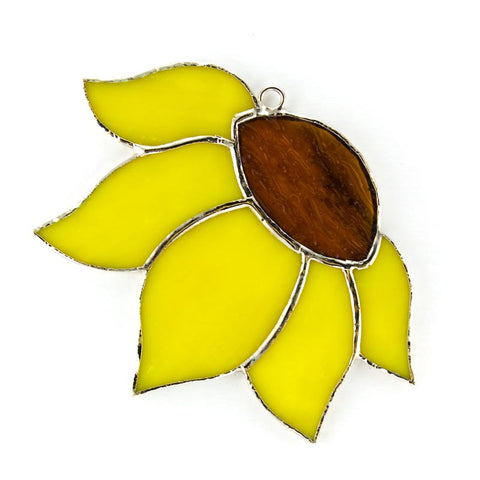Glass Cover- Side Sunflower