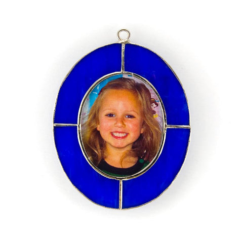 Glass Cover- Oval Picture Frame