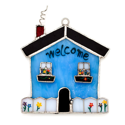 Glass Cover- Welcome Home/Housewarming