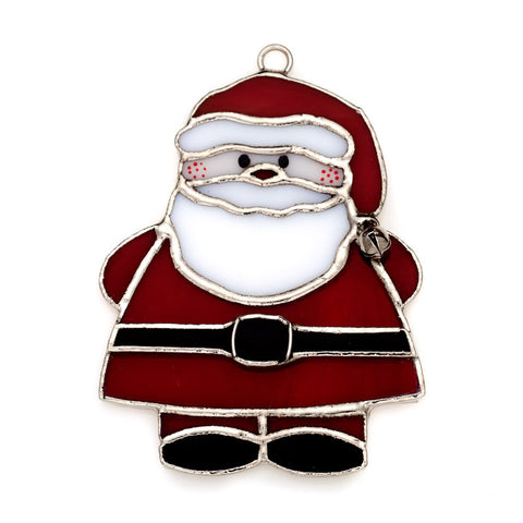 Glass Cover- Jolly Santa