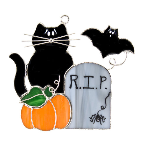 Glass Cover- Halloween Tombstone