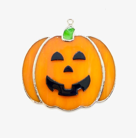 Glass Cover- Jack O'Lantern