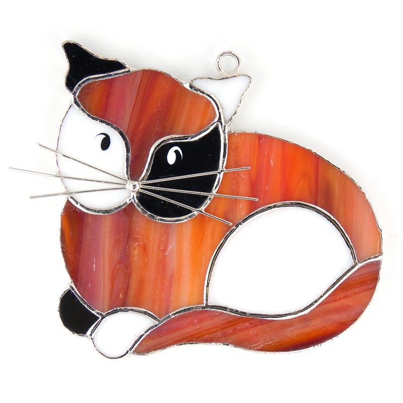 Glass Cover- Calico Cat