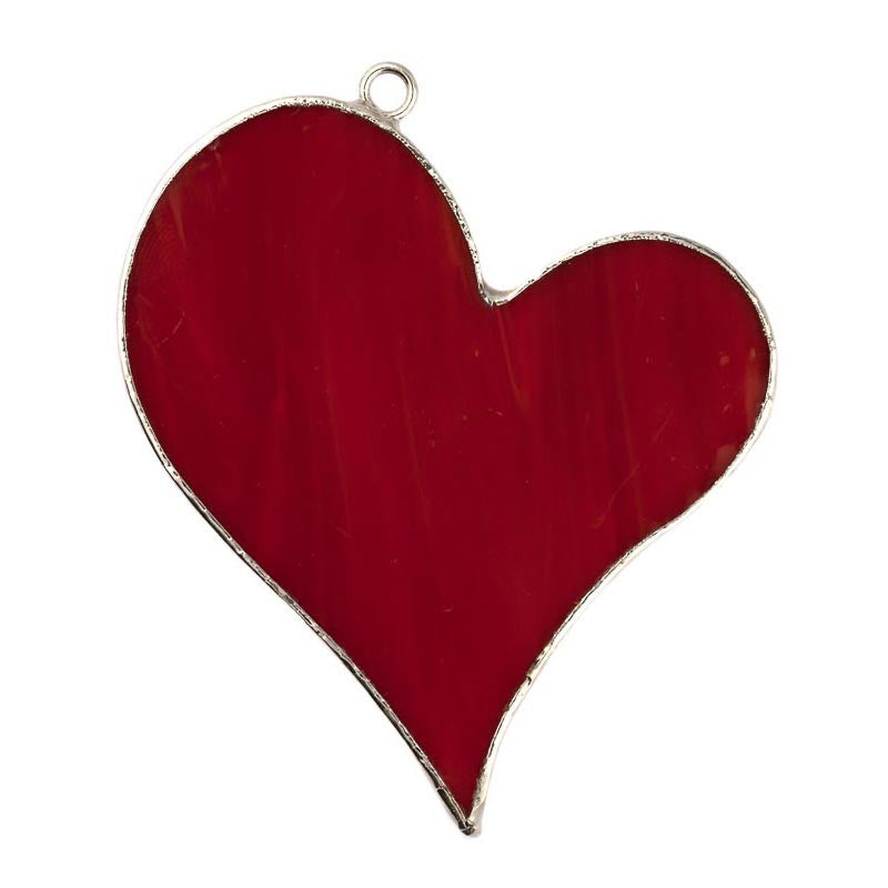 Glass Cover- Red Heart