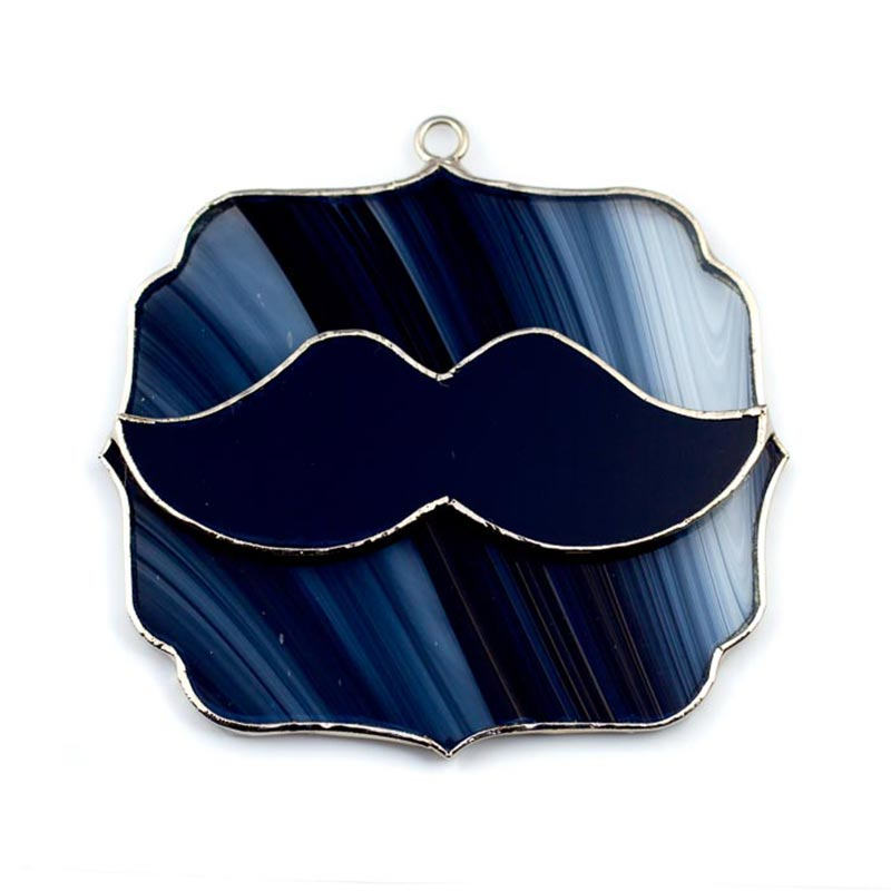 Glass Cover- Mustache