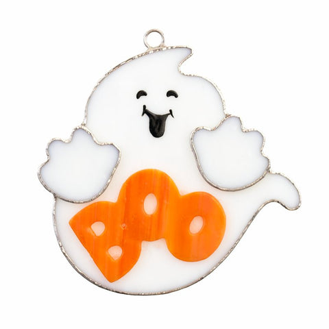 Glass Cover- BOO Ghost