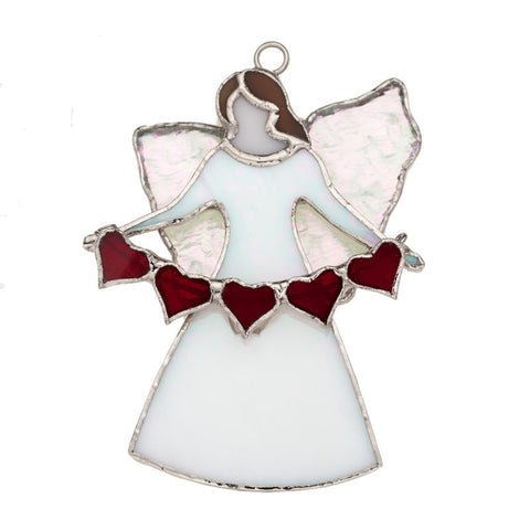 Glass Cover- The Angel Gabriel with Heart Strand