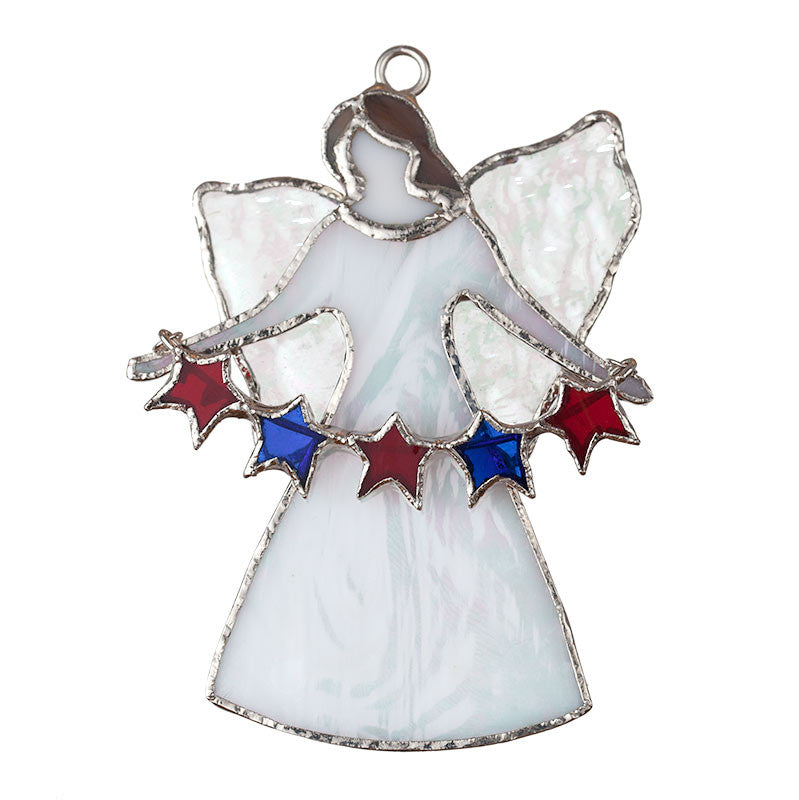 Glass Cover- The Angel Gabriel with Stars
