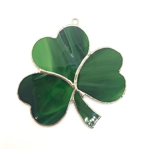 Glass Cover- Shamrock (Divot in Glass/Discolored)