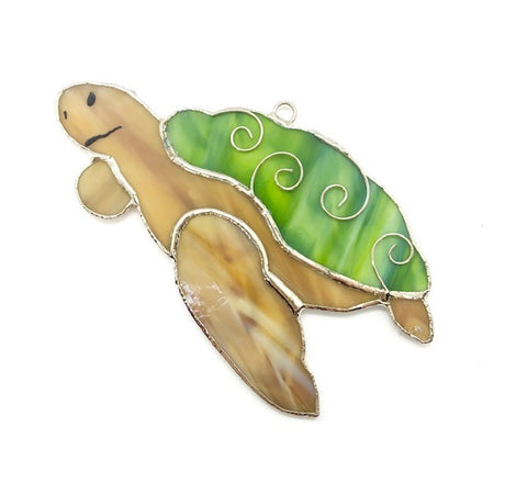 Glass Cover- Sea Turtle