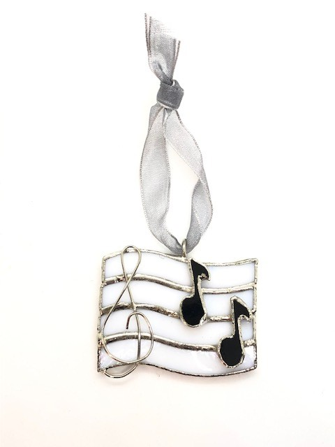 Swittle- Music Notes Ornament