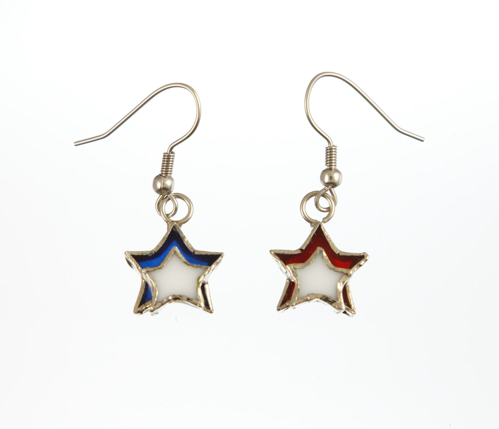 Jewelry- Patriotic Firecracker Earrings