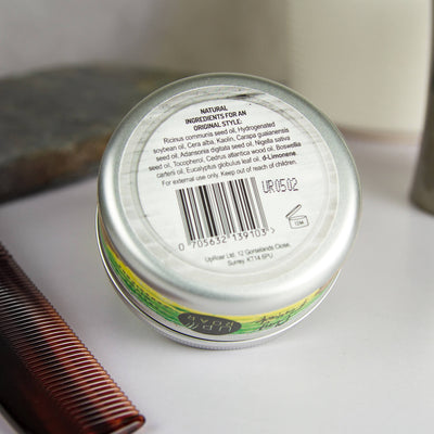 Natural Dual Action Clay Pomade - Paraben and Cruelty Free