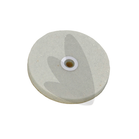 White Knock Down Wheel 3 x 3/8