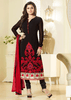 BLACK GEORGETTE SALWAR KAMEEZ - Designer Indian Dress