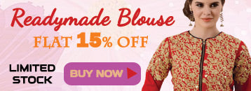 Readymade or Ready to wear Designer Saree Blouse Sale Online