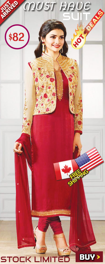 Latest Embroidery Salwar Kameez on Sale