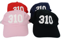 310 Los Angeles Area Code Felt Logo Hat