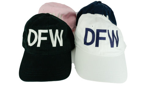 DFW Dallas Fort Worth Airport Code Classic Hat