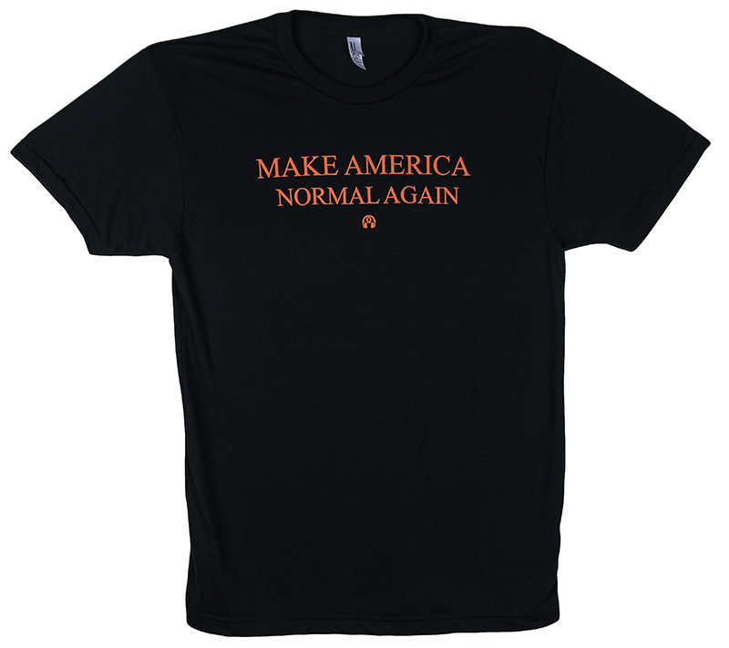 Make America Normal Again Short Sleeve Tee