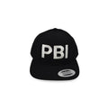 PBI Palm Beach Airport Code Snapback Hat