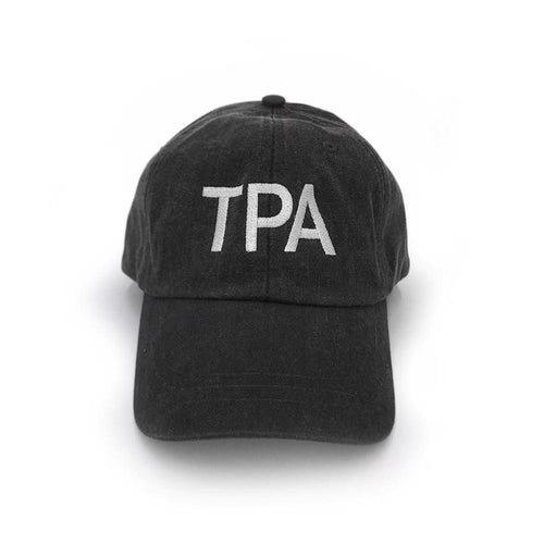 TPA Tampa Airport Code Vintage Hat