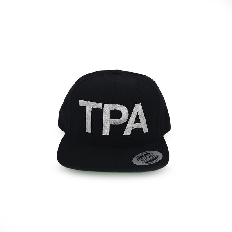 TPA Tampa Airport Code Snapback Hat