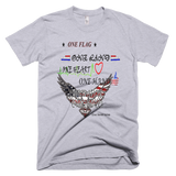 One Flag Light Color T-shirt