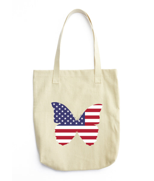 Butterfly USA Tote